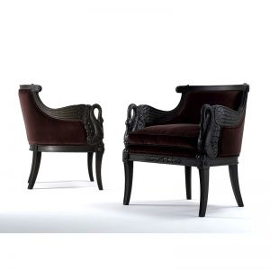 TAYLOR LORENTE | CARVED NEOCLASSICAL ARMCHAIR