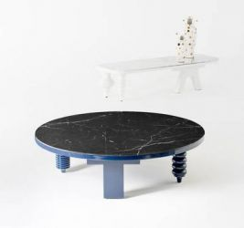 BARCELONA DESIGN | MARBLE MULTILEG LOW TABLE
