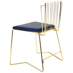 STACKING FOLDING CHAIR