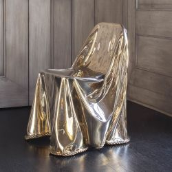 KELLY WEARSTLER | CALIA DRAPED CHAIR