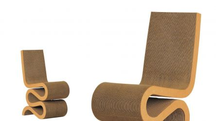FRANK GEHRY| WIGGLE SIDE CHAIR | VITRA