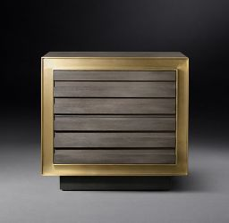 "RH MODERN | MARLOW 30"" CLOSED NIGHTSTAND"