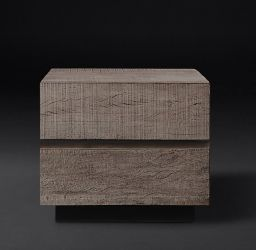 "RH MODERN | MONTEREY 24"" CLOSED NIGHTSTAND"